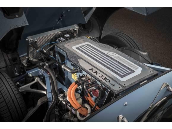 Jaguar E-Type Concept Zero: ¡un E-Type eléctrico!