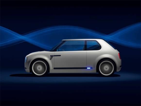 Honda  Urban EV Concept: un eléctrico con aire retro