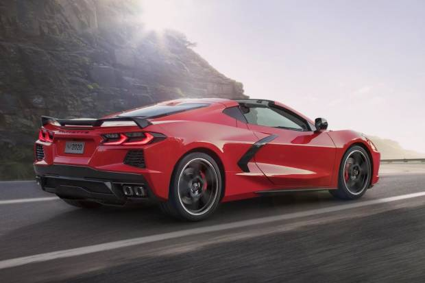 Nuevo Chevrolet Corvette Stingray 2020, con motor central