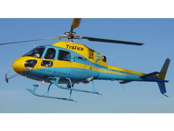 La DGT estrena a Pegasus, su nuevo radar de helicóptero