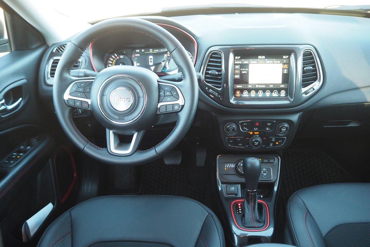 Prueba Jeep Compass 4xe