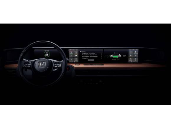 Primera foto del interior del Honda Urban EV