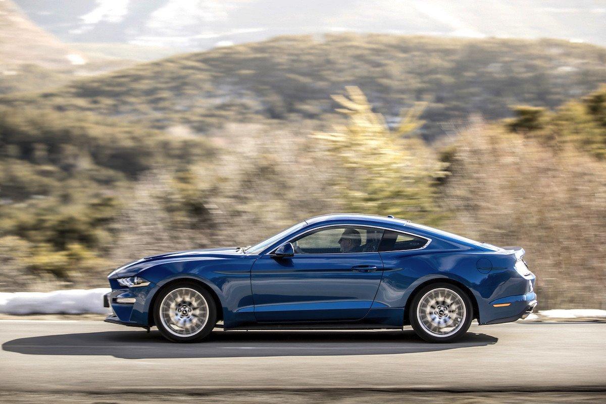 Prueba ford Mustang 2018