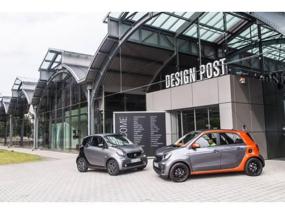 Smart fortwo y forfour, con cambio automático de doble embrague