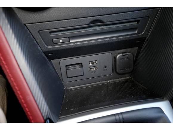 Prueba del Mazda CX-3: notable alto
