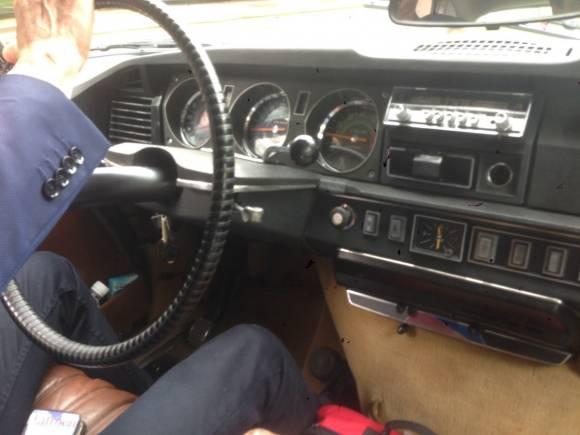 Prueba coche clásico, Citroën DS 20 de 1974