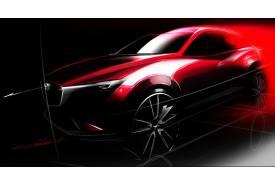 Mazda presentará el CX-3 en el Salón de Los Ángeles