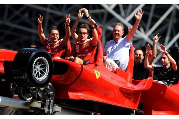Fernando Alonso es un tipo duro, y el asiento de un F1 es vital
