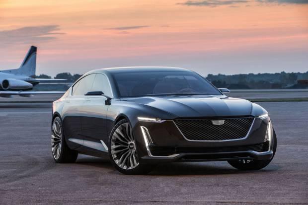 Cadillac Escala Concept, la berlina de lujo americana