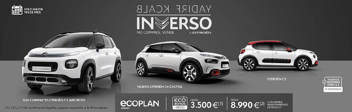 Citroën Black Friday Inverso