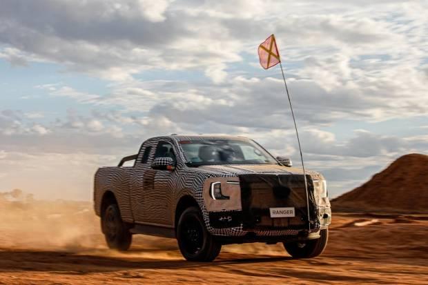Vídeo con las primeras imágenes del próximo Ford Ranger