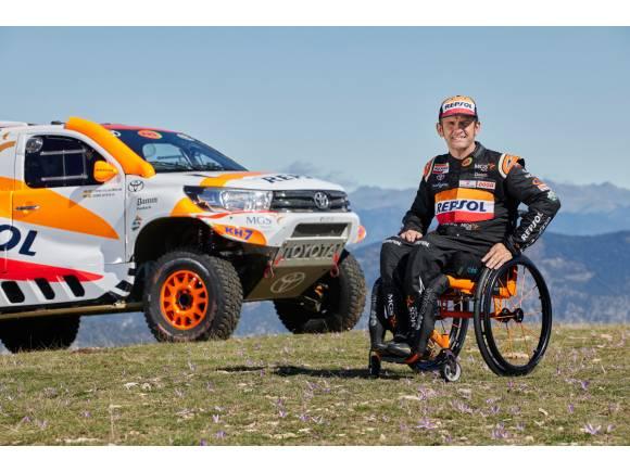 Isidre Esteve confirma su presencia en el Dakar 2022 con Toyota