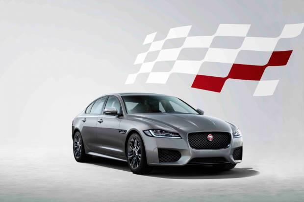 Nueva edición especial Chequered Flag para el Jaguar XF
