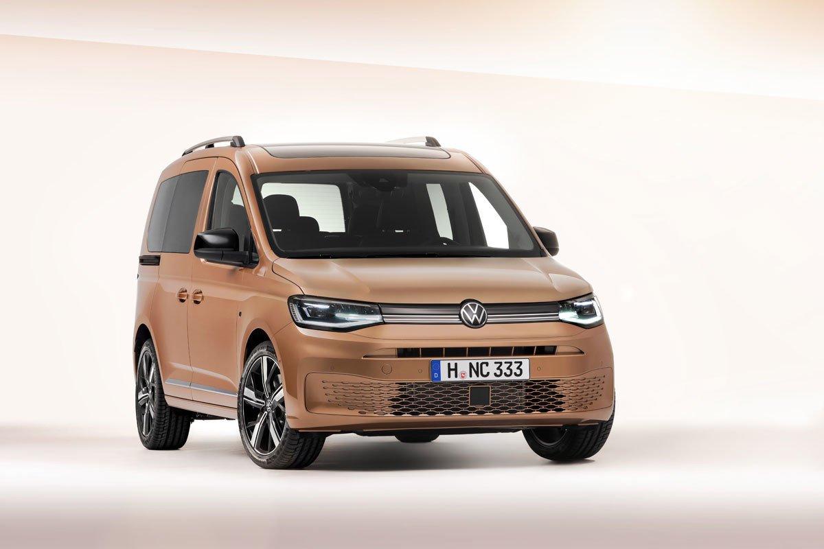 Nuevo Volkswagen Caddy Diseno Moderno E Interior Conectado