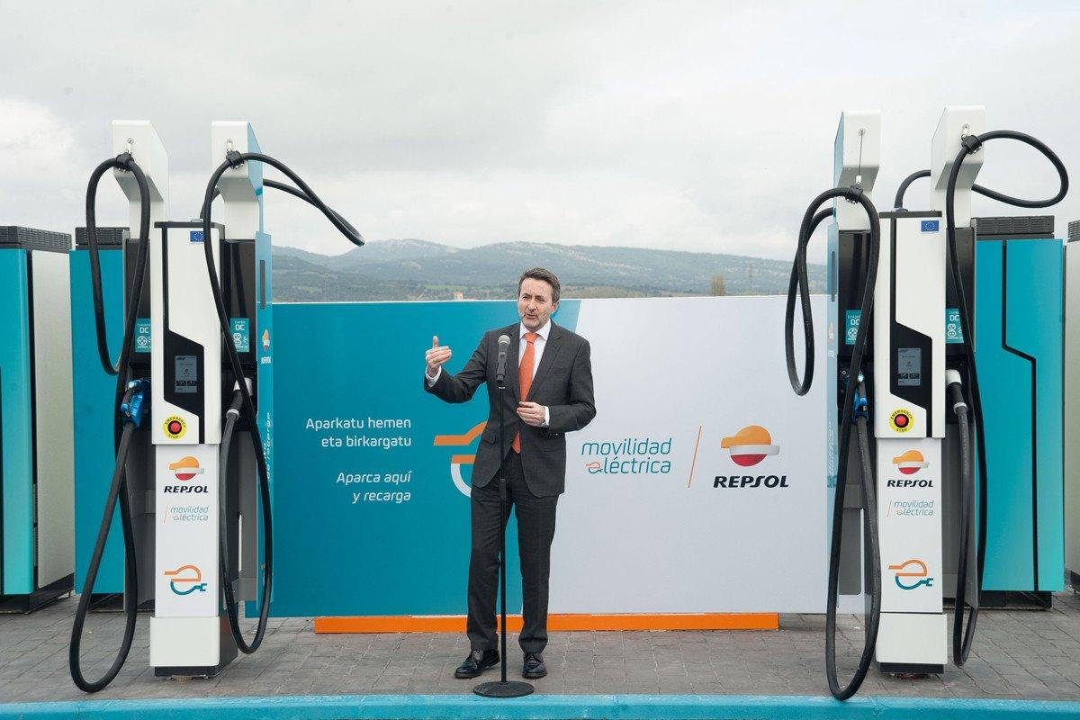 cargador ultrarrapido coche electrico