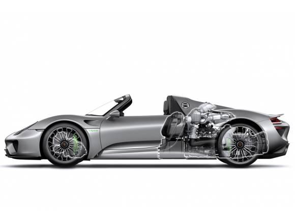 El Porsche 918 Spyder se presenta en Frankfurt con un récord