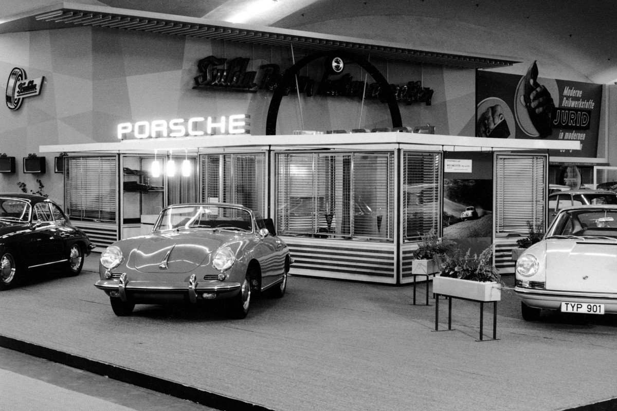 Porsche Salón Frankfurt