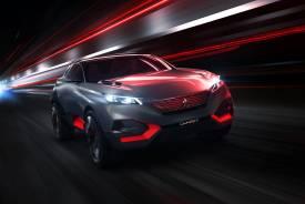 Peugeot Quartz, un crossover deportivo
