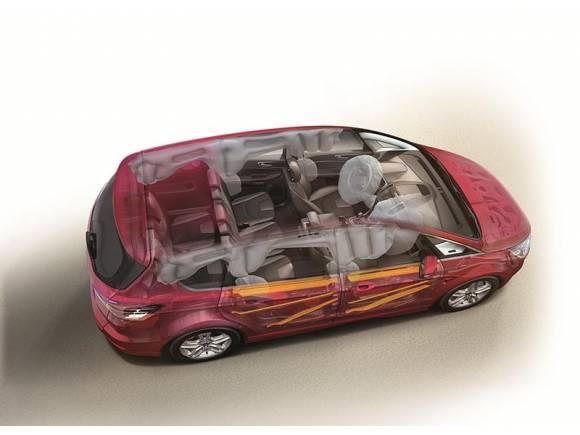 Los nuevos Ford S-Max y Ford Galaxy consiguen las cinco estrellas EuroNCAP