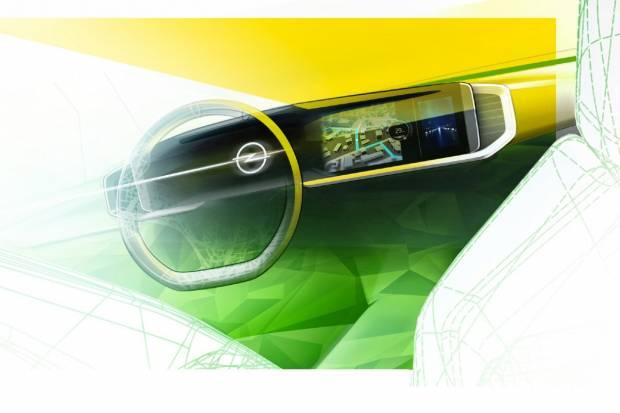 Opel Pure Panel: la innovadora pantalla táctil que estrenará el Mokka 2021