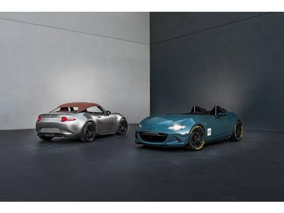 Mazda presenta los MX-5 Spyder y MX-5 Speedster en el SEMA Show