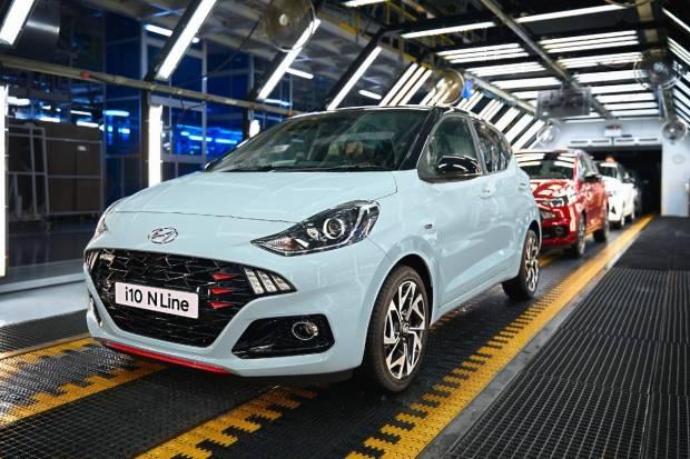 El Hyundai i10 N Line arranca su producción: 100 CV y un diseño 'racing'