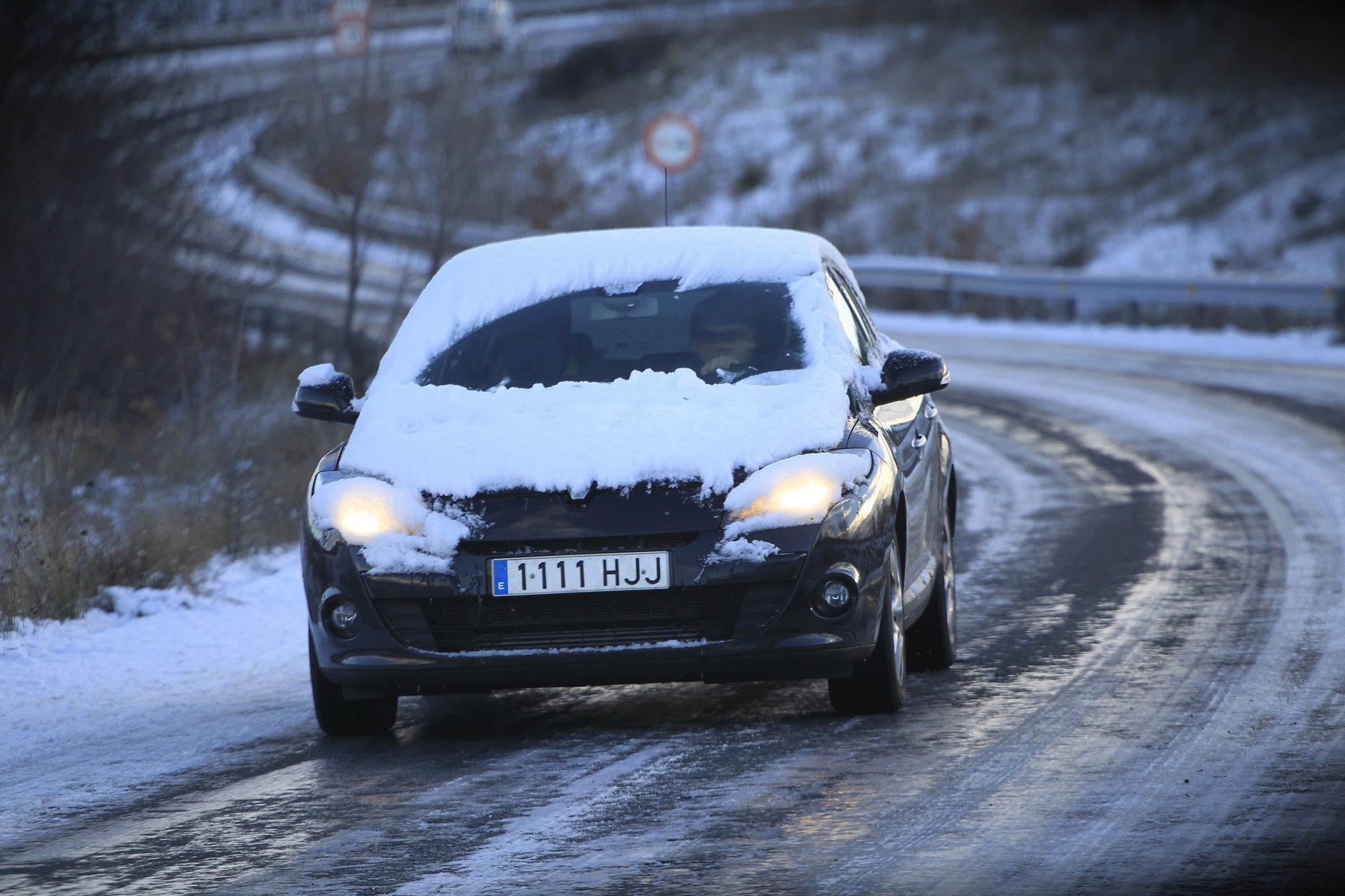 Conducción hielo y nieve