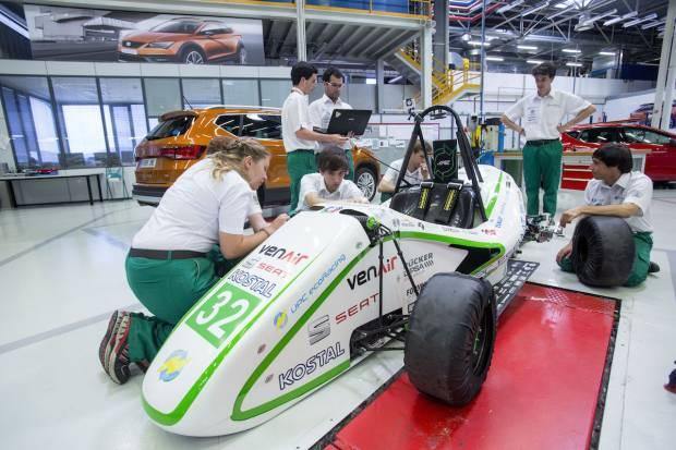 Seat trae de nuevo la Formula Student a Montmeló, con entrada gratuita