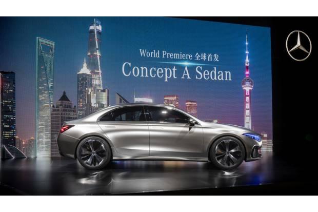 Nuevo Mercedes Concept A Sedan, el próximo Clase A