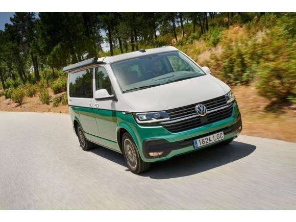 Nueva Volkswagen T6 California: ahora con controles digitales