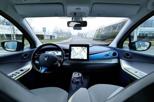 Los cinco niveles de conducción autónoma de los coches