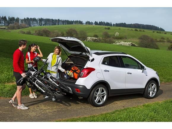 Opel FlexFix: cómo llevar hasta cuatro bicis de forma cómoda y segura en el coche