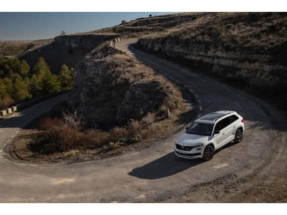 Primera prueba del Skoda Kodiaq RS