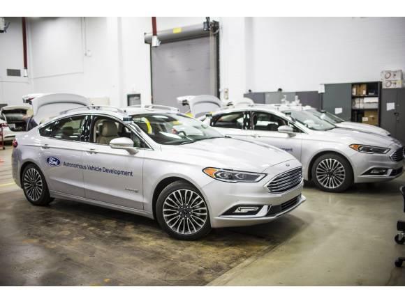 Ford sigue avanzando en el desarrollo del coche autónomo