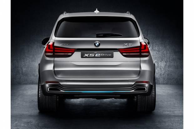 BMW Concept X5 eDrive, el SUV de BMW, híbrido y enchufable