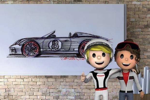 Porsche 4Kids: entretenimiento para los niños en estado de alarma