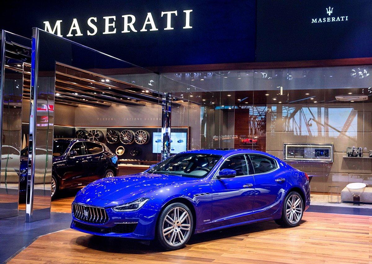 Gama Maserati 2018