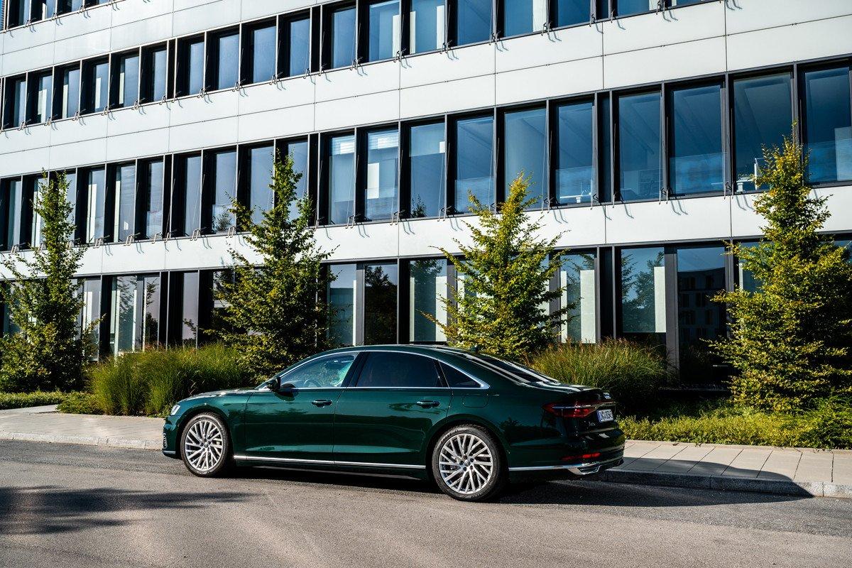 Audi A8 TFSIe hibrido