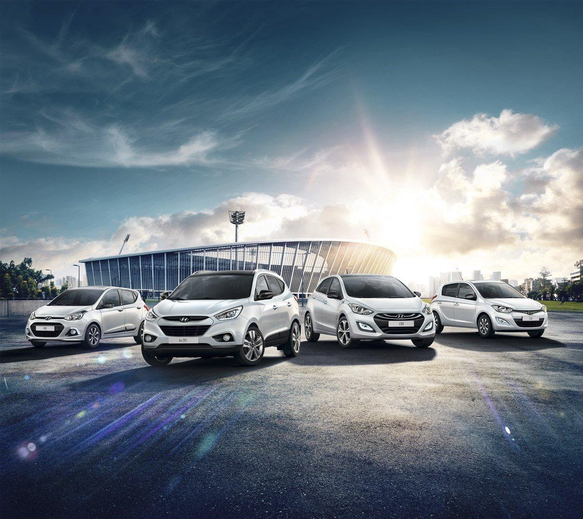 Gama Hyundai Go! Brasil