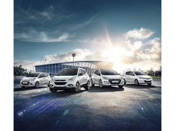 Hyundai lanza ediciones especiales Go! Brasil con motivo del Mundial 2014