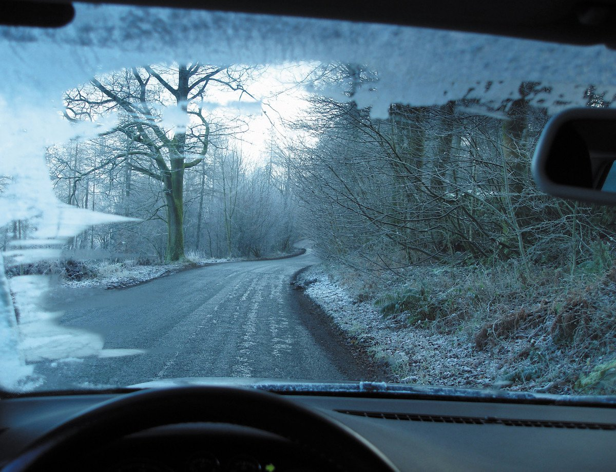 conducir nieve hielo