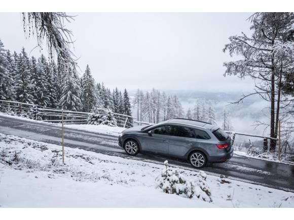 10 claves para conducir con placas de hielo y nieve