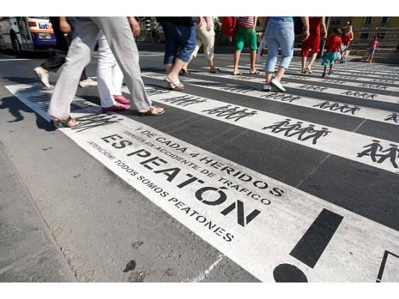 Uno de cada cuatro fallecidos en accidentes de tráfico son peatones
