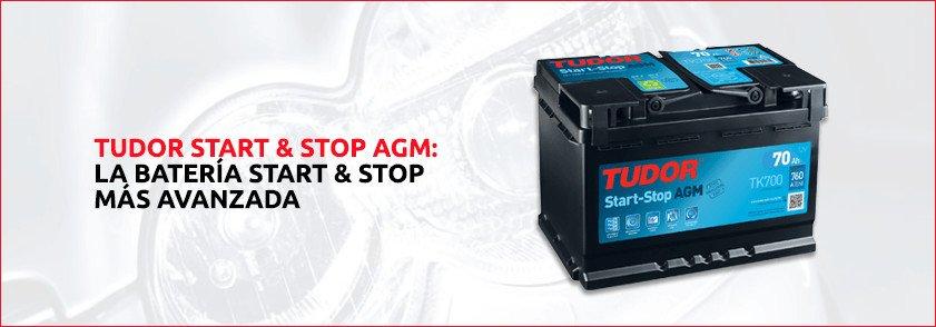 batería en coches con Start Stop