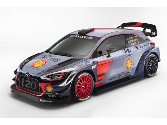 Hyundai presenta el nuevo i20 Coupé WRC ¿el coche favorito?