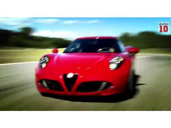 Vídeo: Fisichella conduciendo el nuevo Alfa Romeo 4C