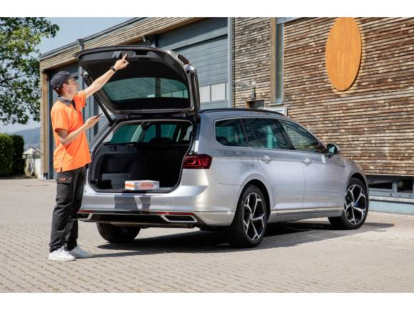 Nacex primera empresa en entregar pedidos en tu coche