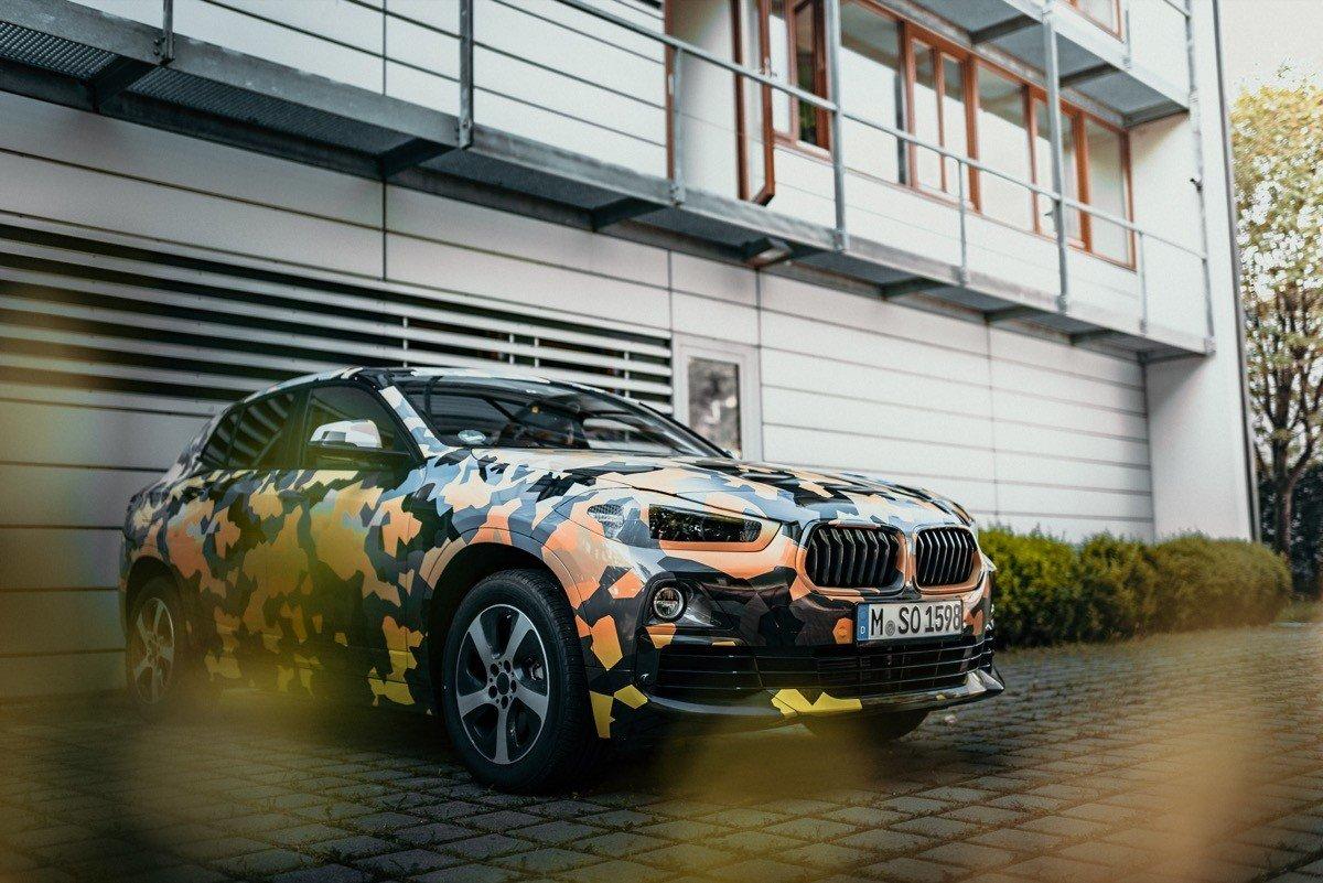 BMW X2 prototipo