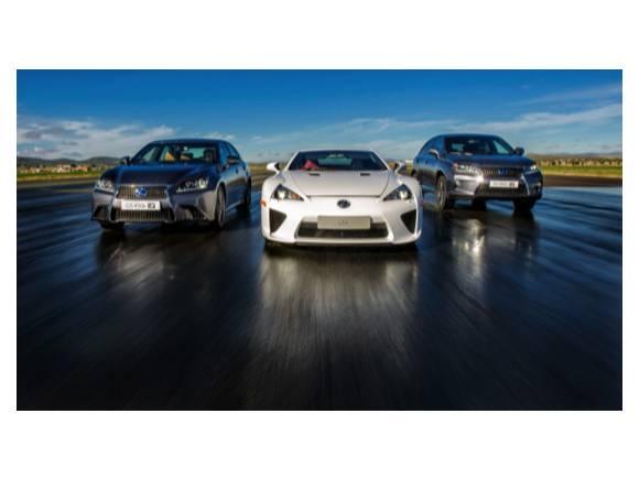 Prueba: gama F-Sport de Lexus, híbridos y deportivos