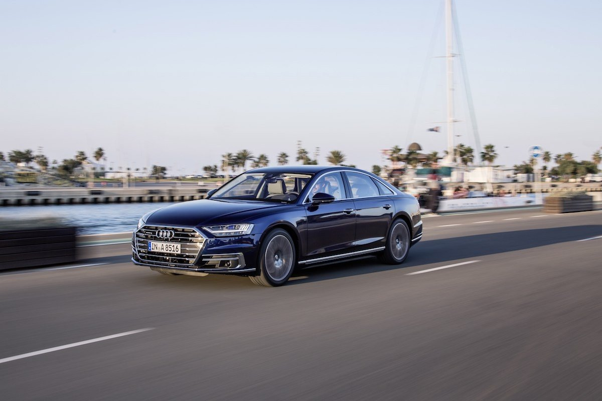 Prueba nuevo Audi A8 55 TFSI